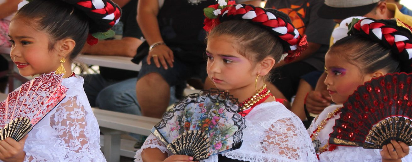 Young dancers at our Fiesta.