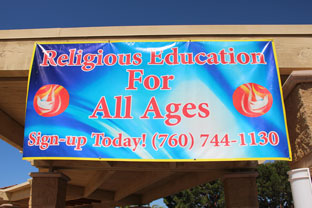 Fall Religious Education Classes Registration Has Started.