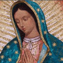 The Feast of Our Lady of Guadalupe, patron saint of the Americas: